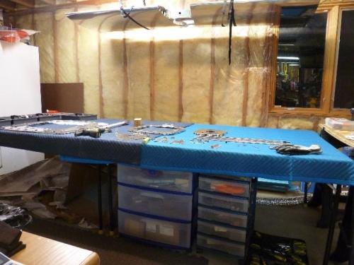 Basement work table
