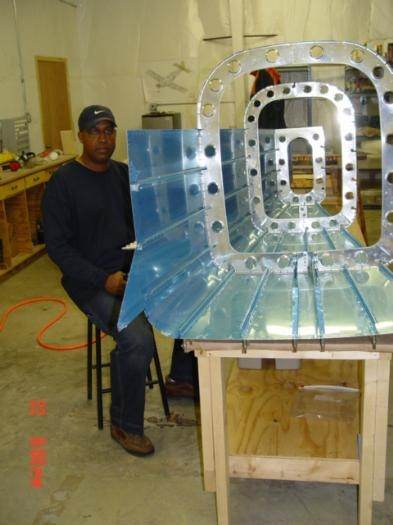 Making big airplane parts