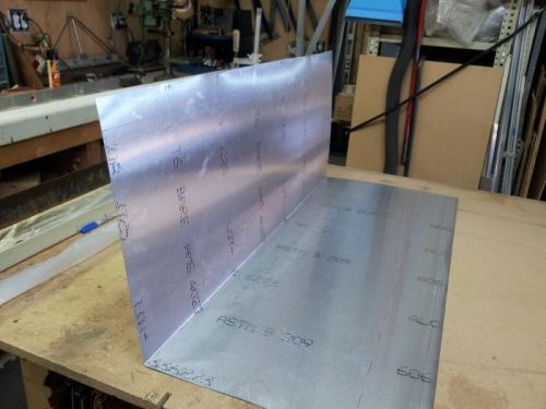 finished trailing edge