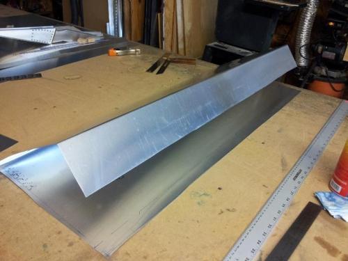 flat to bent metal