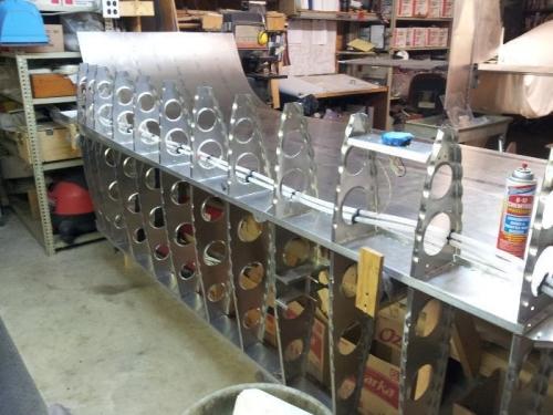 temp storage on bench