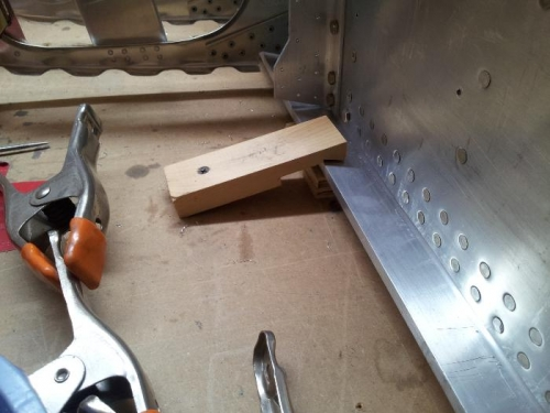 Inboard clamping