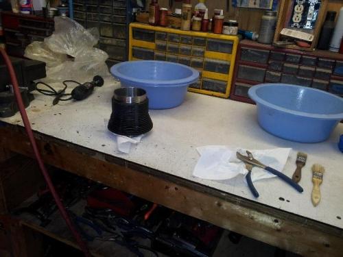 cleaning barrels
