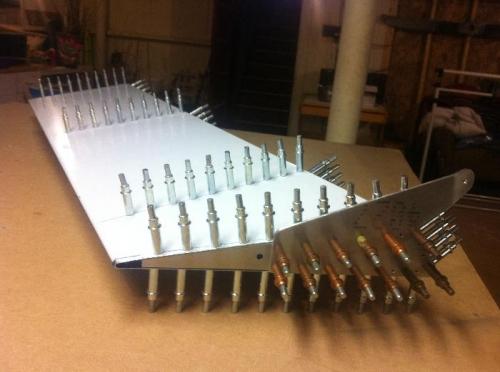 Ruddervator fully drilled