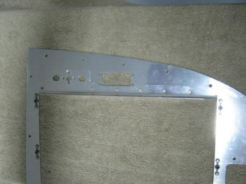 Left panel showing Skyview reinforcement angle attached