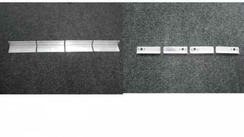 Separate F1236 step attach angles and F1251 nut plate brackets
