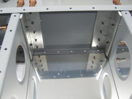 Match drilled F1236A & B step attach angles