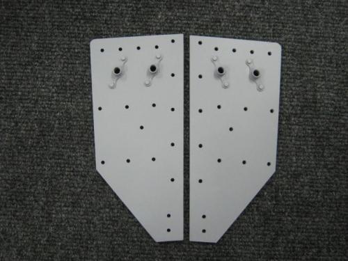F1205B rolbar attach plates-BOTTOM