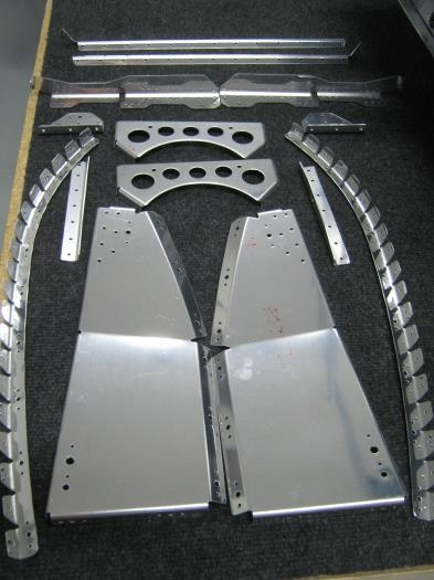 Parts prepped and deburred