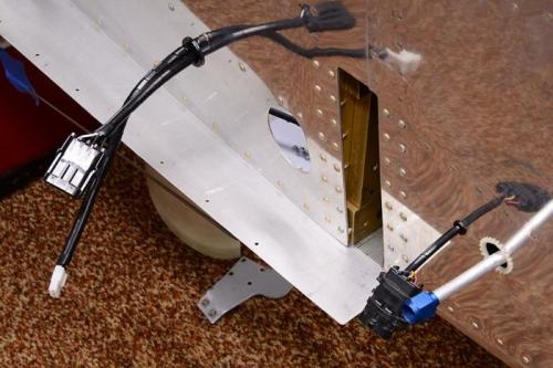 Fuselage Wiring Complete