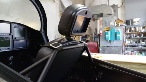 All New Front Headrest Design