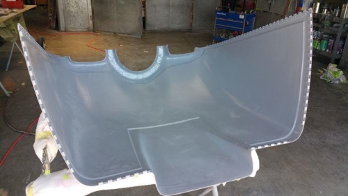 New Cowling Interior Primed