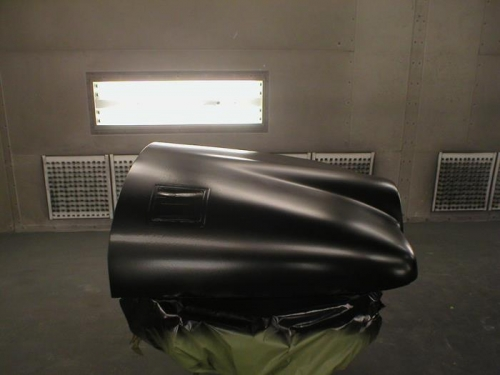 Engine Cowling Gets First Gelcoat