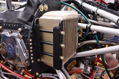 New Left Engine Baffle & Oil Cooler