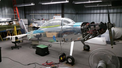 Hangar Reassembly Begins