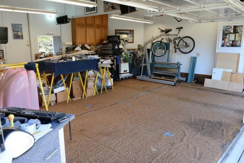 Cleaning The Workshop