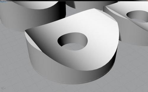 Custom 3D Printed Windshield Standoffs