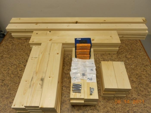 2x4s and hardware