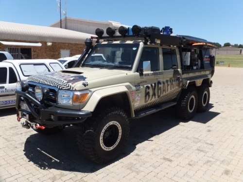 An Africian off-roader.
