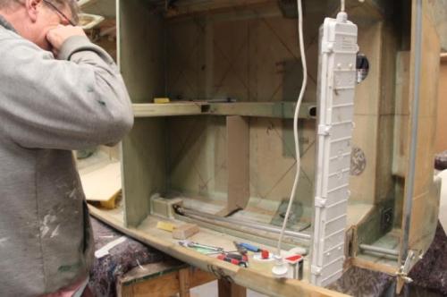 Making bulkhead templates