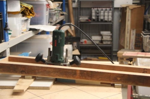 Firing up the router table thingie