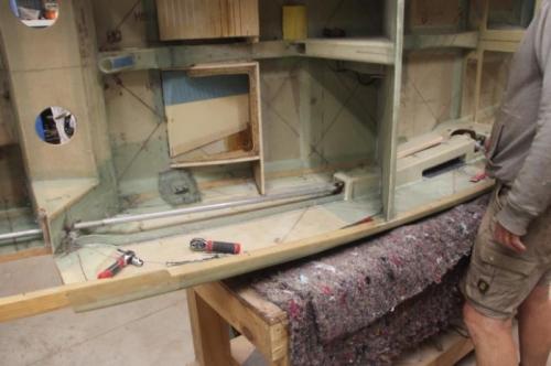 Reinstalling Aileron hardware