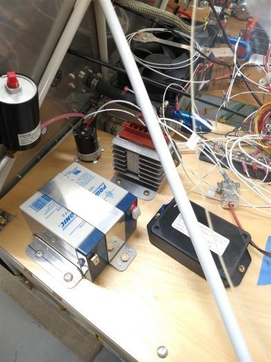 Backup battery and transducer