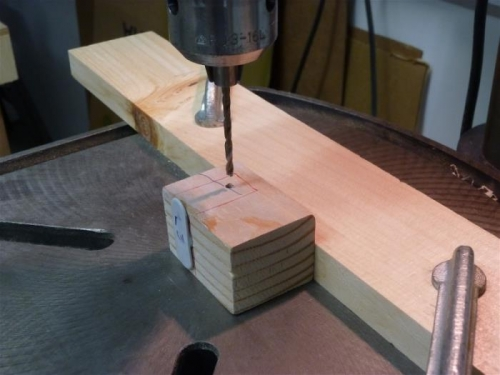 Drilling mounting tee