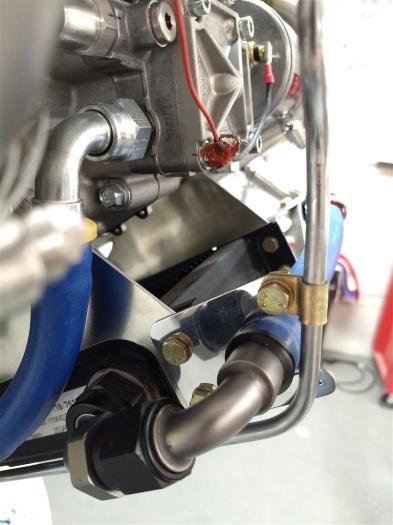 Replaced anti rotation bracket