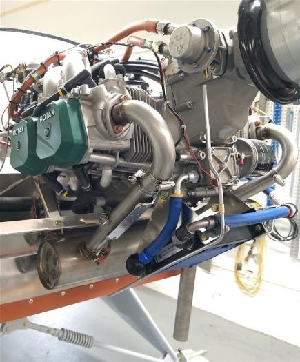 Fuel pump drain line