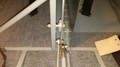 Pitch Axis Servo Connection to the Elevator