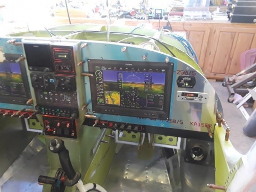 Right instrument panel os far