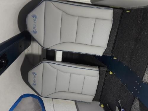 Rear seat backs