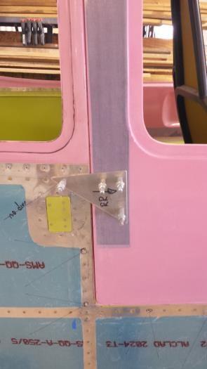 rearward alignment tab