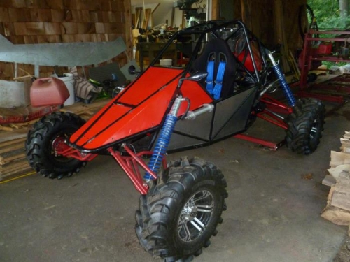 one of the two sand buggies