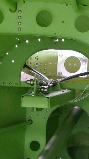 trim servo installed