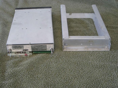 Back with mounting tray