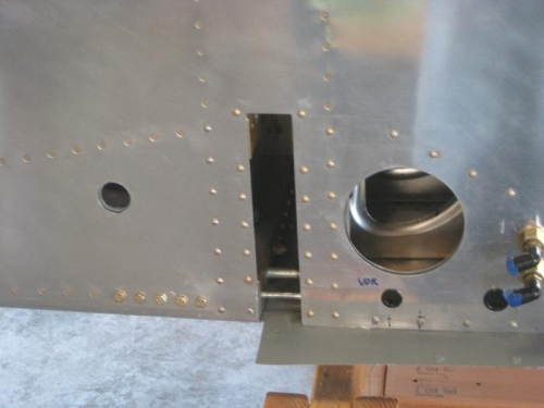 Two more rivets