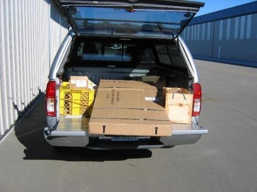 Tail kit arrives Jan 11 2007