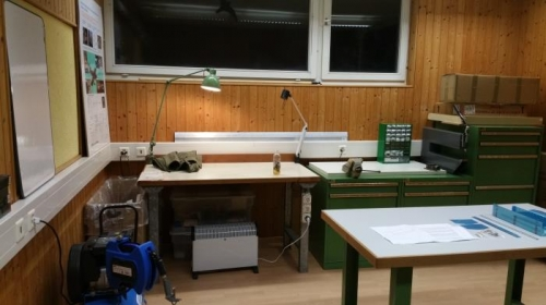 Toolboxes and workdesk