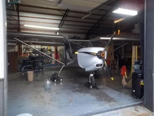A clean plane