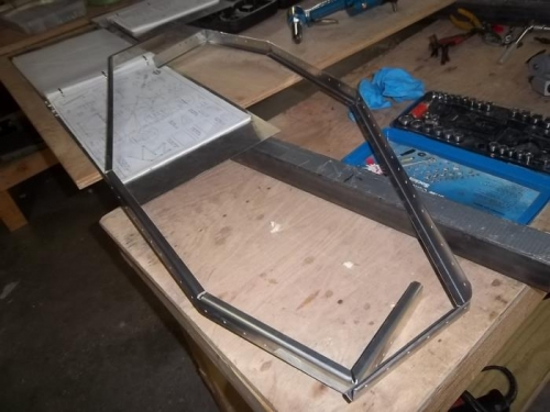 Sill doublers bent