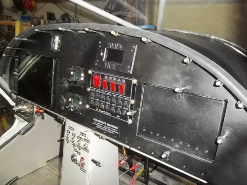Closed up the avionics bay