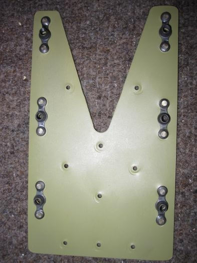 Splice plate nutplates riveted
