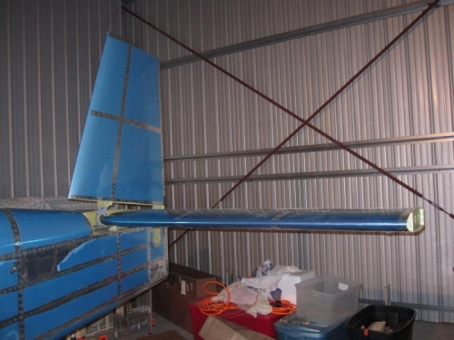 Vertical Stabilizer Attached