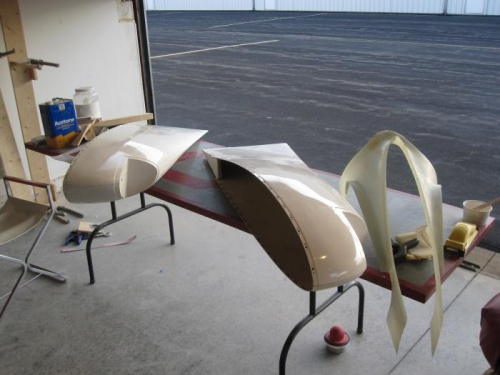 Wing Tips and Empennage Fairing