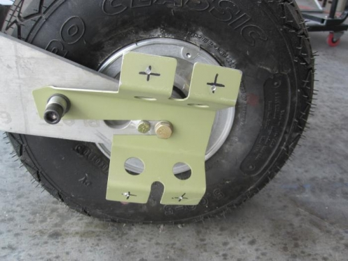 Nose Wheel Pant Bracket