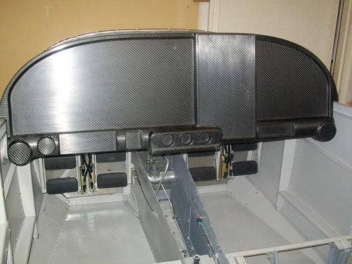 Aerosport Products Carbon Fiber Instrument Panel (www.aerosportproducts.com)