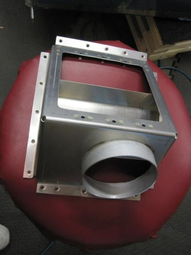 AirFlow divder plate installed