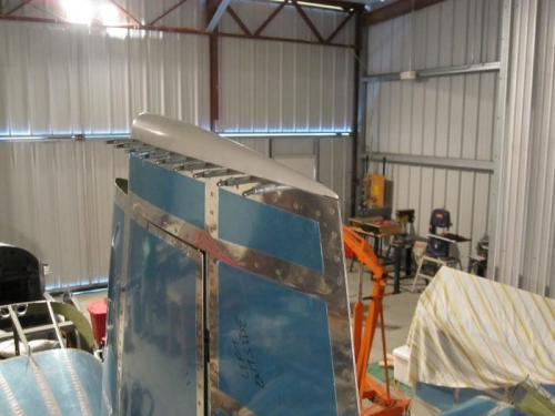 Top Rudder fairing